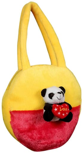 Tickles Panda Hand Purse Soft Stuffed For Kids 25 cm ( 4 L )