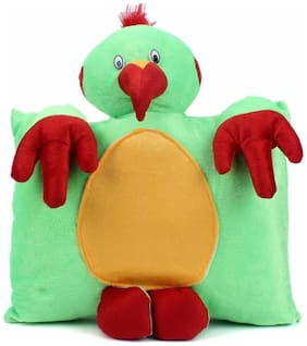 Tickles Parrot Cushion - 33 Cm