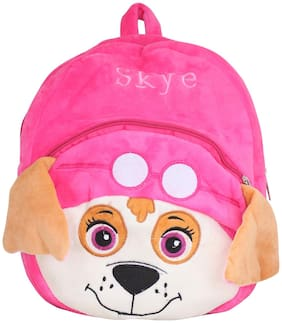 Tickles Paw Patrol Skye Dog Cartoon Plush Backpack Small School Bag Soft