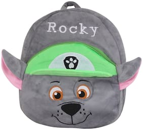 Tickles Paw Patrol Rocky Dog Cartoon Plush Backpack Small School Bag Soft
