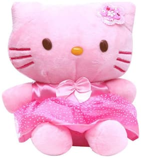 Tickles Pink Soft Cute Hello Kitty Soft Stuffed For Kids 15 cm