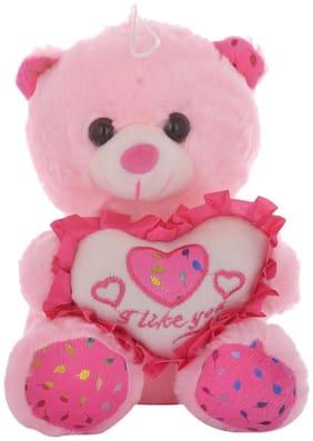 Tickles Pink Teddy Bear - 18 cm