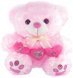 Tickles Pink Teddy Bear - 26 cm
