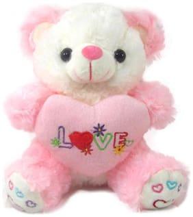 Tickles Pink Soft Toy Teddies- 18 Cm