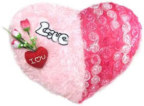 Tickles Pink Soft Toy Cushions- 18 Cm