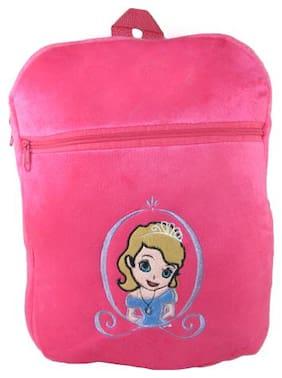 Tickles Princes School Bags Soft Stuffed For Kids 34 cm ( 3 L )