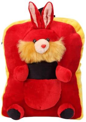 Tickles Red Rabbit Shoulder Bag Red Stuffed Soft Plush ( 3 L )