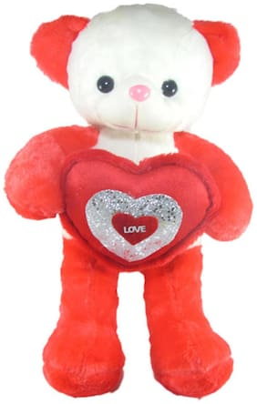 Tickles Red Teddy Bear - 65 cm