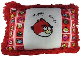 Tickles Red Happy Bird Cushion 33 Cm