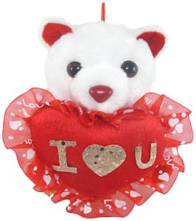 Tickles Red Teddy Bear - 13 cm