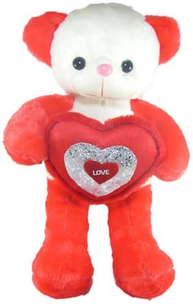 Tickles Red Teddy Bear - 51 cm
