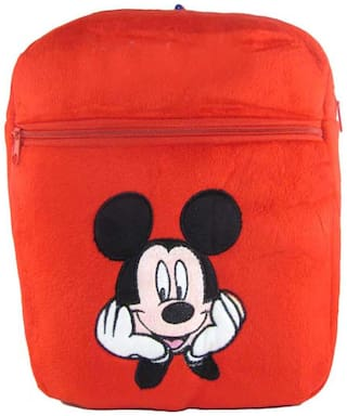 Tickles Red Mouse Bag Stuffed Soft Plush Toy 34 Cm ( 3 Liters )