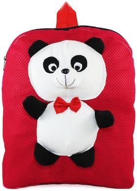 Tickles Red Panda Backpack For Kids 33 cm ( 3 Liters )