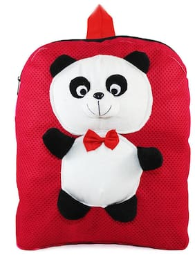 Tickles Red Panda Backpack For Kids 33 cm ( 3 Liters )