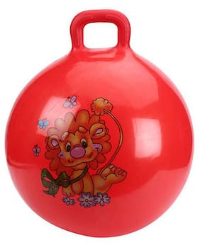 Tickles Red Jumping Ball Toy