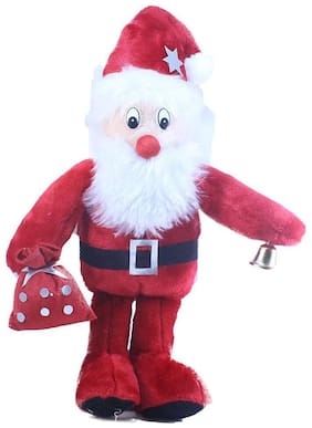 Tickles Santa With Gifts Soft Stuffed For Kids 42cm