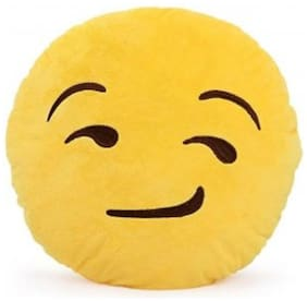 Tickles Smiley Cushion Soft Stuffed For Kids 30 cm