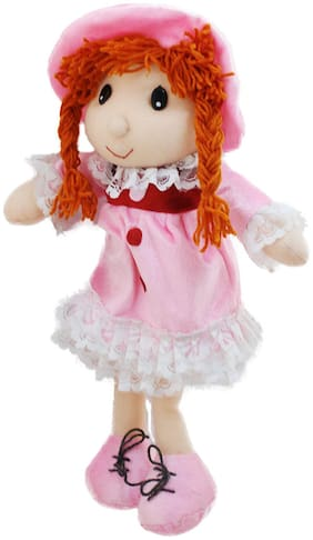 Tickles Smiling Doll Stuffed Soft Plush Toy Love Girl 36 Cm