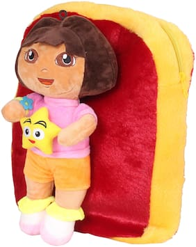 Tickles Soft Doll Toy School Bag 38 cm ( 3 Liters )