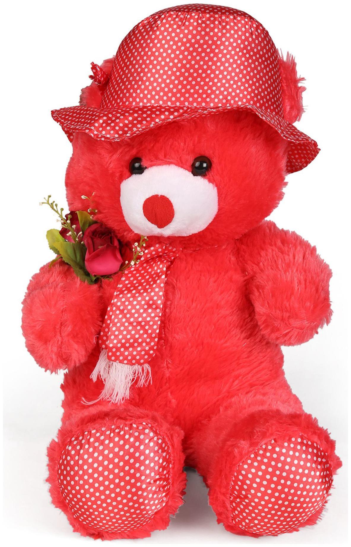 Tickles Red Teddy Bear   30 cm