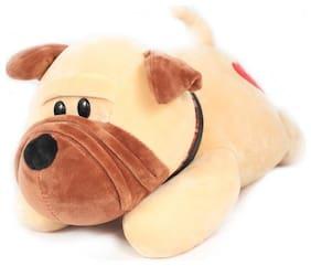 Tickles Super Soft Cute Bull Dog Stuffed Soft Plush Toy For Kids 30 cm
