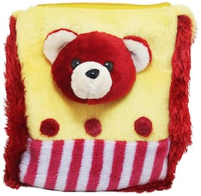 Tickles Teddy Face Sling Bag Stuffed Soft Plush Toy Love Girl 27 Cm ( 3 Liters )