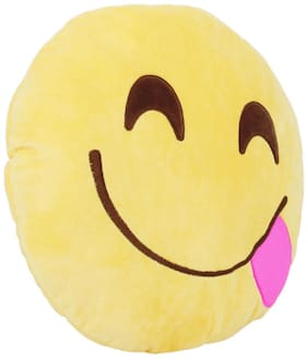 Tickles Tongue out Cushion Soft Stuffed For Kids 33 cm
