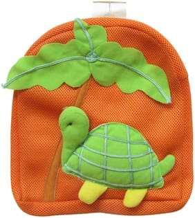 Tickles TURTLE SHOULDER NET BAG Soft Toy Plush Kids Birthday Gift (Green;Brown)