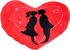 Tickles Valentine Heart cushion lovely kissing couple 42 cm
