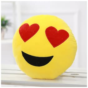 Tickles Whatsapp sofa Smiley Emoticon Heart in the Eyes Love Cushion plush Soft Stuffed For Kids 33 cm