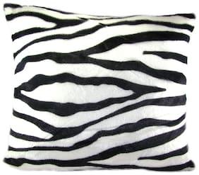 Tickles White And Black Zebra Pattern Cushion