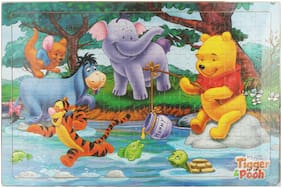 Tickles Wooden Cartoon Puzzles Set 204 Pieces Jigsaw Puzzle for Kids 2 yrs Plus