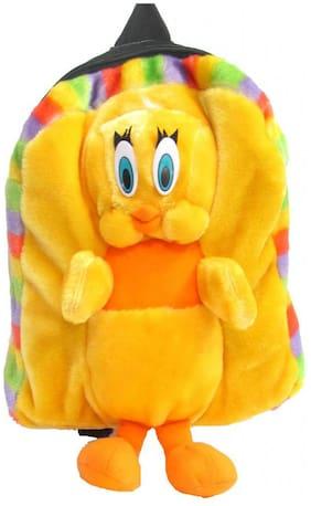 Tickles Yellow Bird Bag Stuffed Soft Plush ( 3 L )