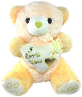 Tickles Yellow Soft Toy Teddies- 21 Cm
