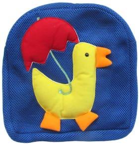 Tickles Yellow Duck Shoulder Net Bag Stuffed Soft Plush ( 3 L )