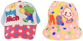 TieKart Boy Cotton Cap - Multi