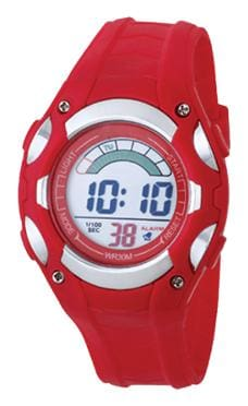 TIME UP Digital LCD Display Alarm & Night-Vision Watch For Kids-MR-8528019-RED