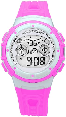 Time Up Digital Alarm Function, WaterProof, BackLight Watch for Boys & Girls