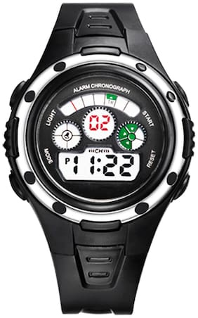 TIME UP Digital 3-EYE dial Alarm Chronograph Cold Backlight Feature Sports Watch For Kids-MR8558095-1