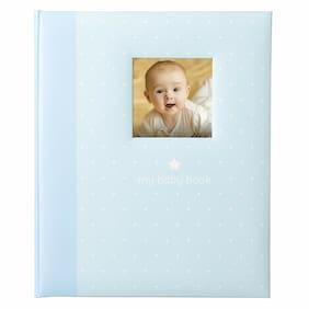 Tiny Ideas Polka Dot Babybook Capture and Cherish Every Precious Moment