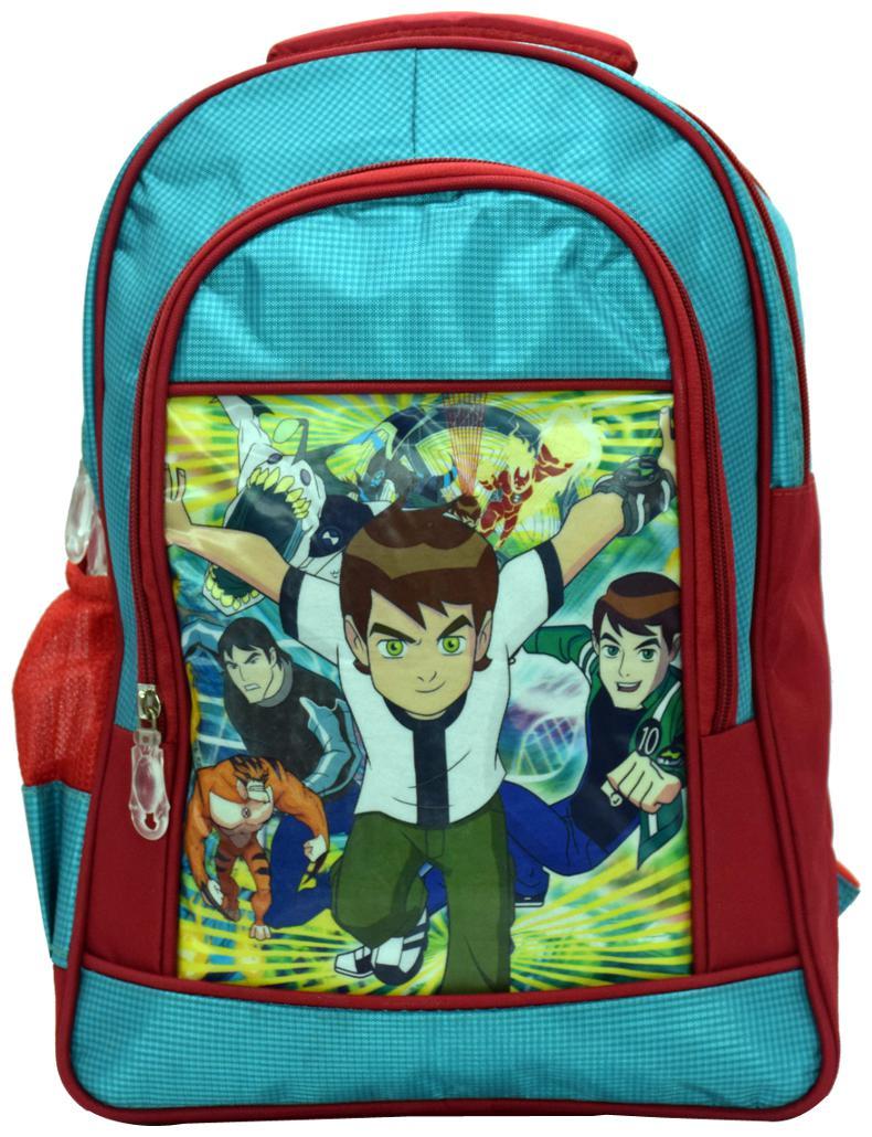 Tinytot Designer Ben10 School Bag for Boys  Blue