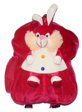 Tinytot Designer Kids School Bag (Rabbit;Pink)