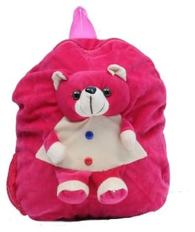 Tinytot Designer Kids School Bag (Teddy;Pink)
