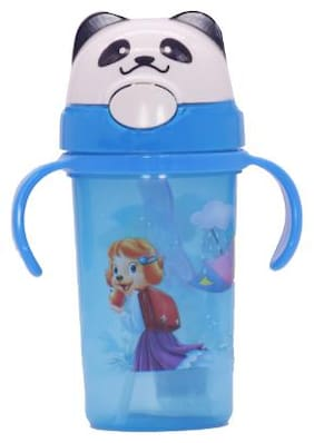 TINYTOT Kids Water Bottle 450 ml (Blue)