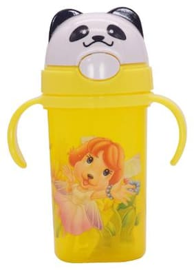 TINYTOT Kids Water Bottle 450 ml (Yellow)
