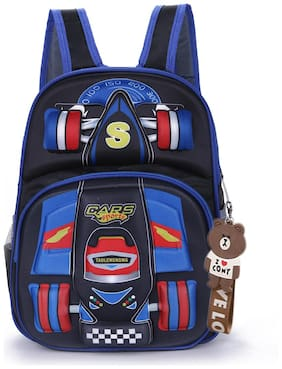 Tinytot Multicolor_1 School Backpack For Nursery to Primary - 1st Std.; Boys;Capacity 15 L