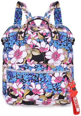 Tinytot Multicolor_7 School College Travel Backpack for Girls;Capacity 18 L