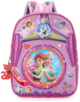 Tinytot Multicolor_1 School Backpack for Play School Nursery Kids; Girls;Capacity 7 Litre