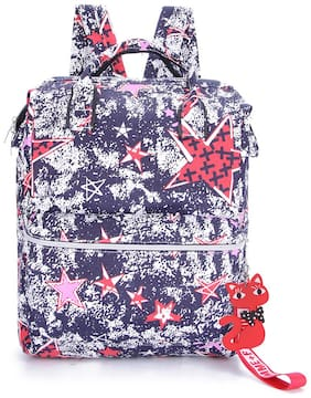 Tinytot Multicolor_4 School College Travel Backpack for Girls;Capacity 18 L