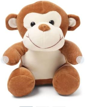 TIVEDA Sitting Monkey Soft Toy For Kids